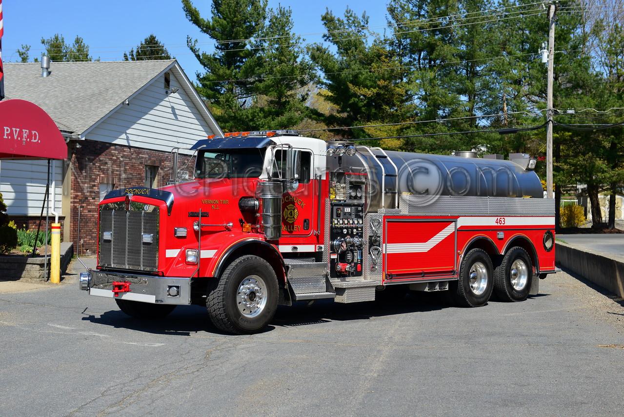 VERNON TWP, NJ (POCHUCK FIRE CO.) TANKER 463