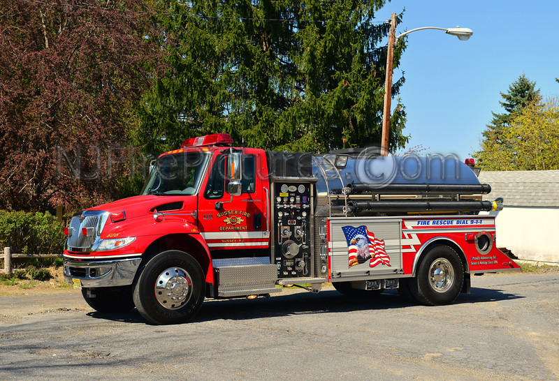 SUSSEX BOROUGH, NJ TANKER 606