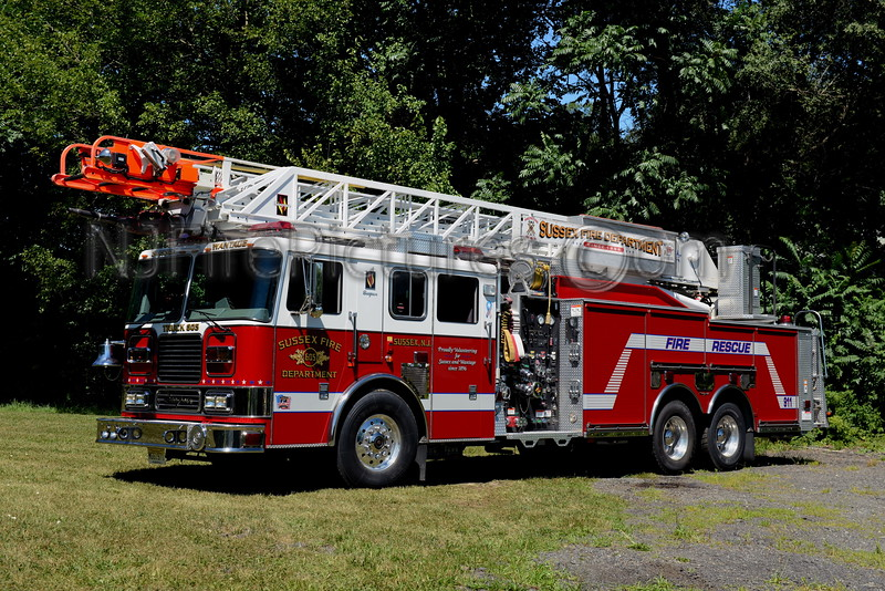 SUSSEX BOROUGH, NJ LADDER 605