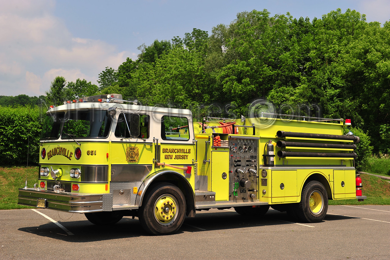 BRANCHVILLE, NJ ENGINE 651