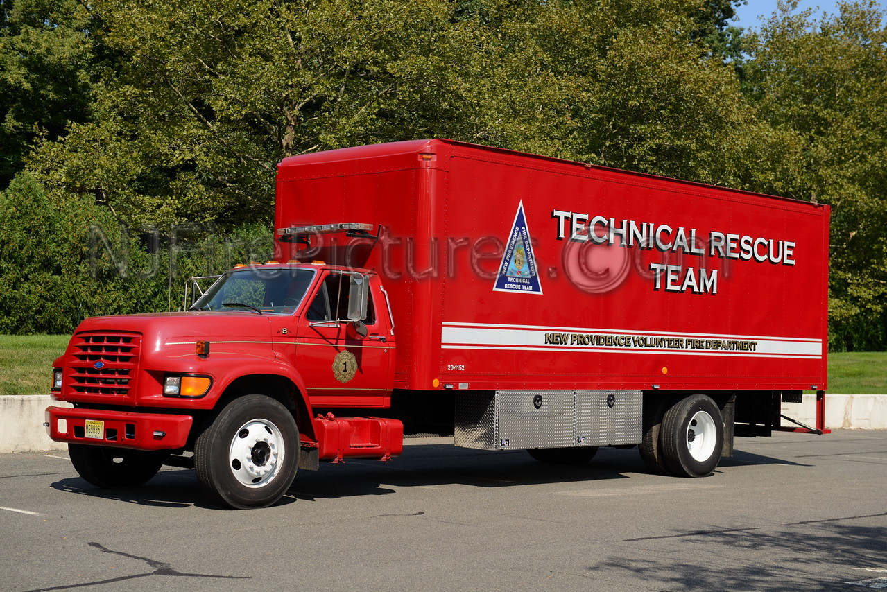 NEW PROVIDENCE, NJ TECHNICAL RESCUE TRUCK 8