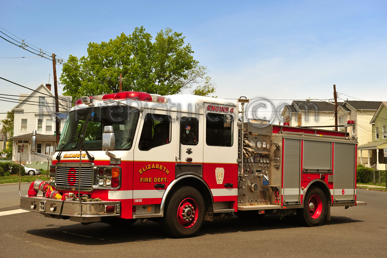 ELIZABETH, NJ ENGINE 6
