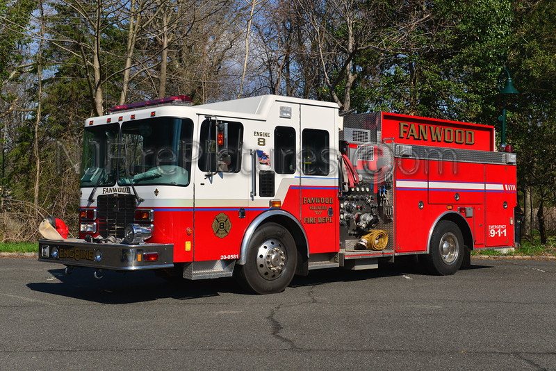 FANWOOD, NJ ENGINE 8