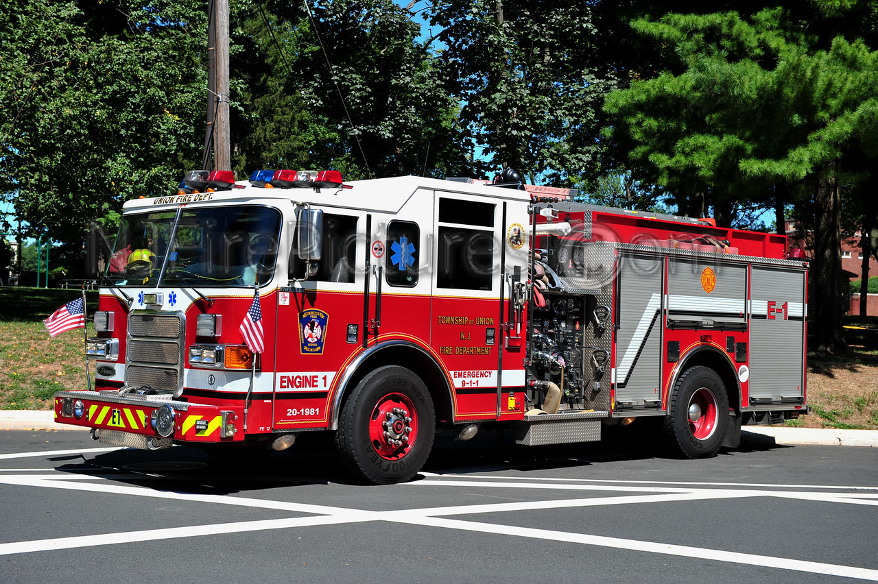 UNION TOWNSHIP, NJ ENGINE 1