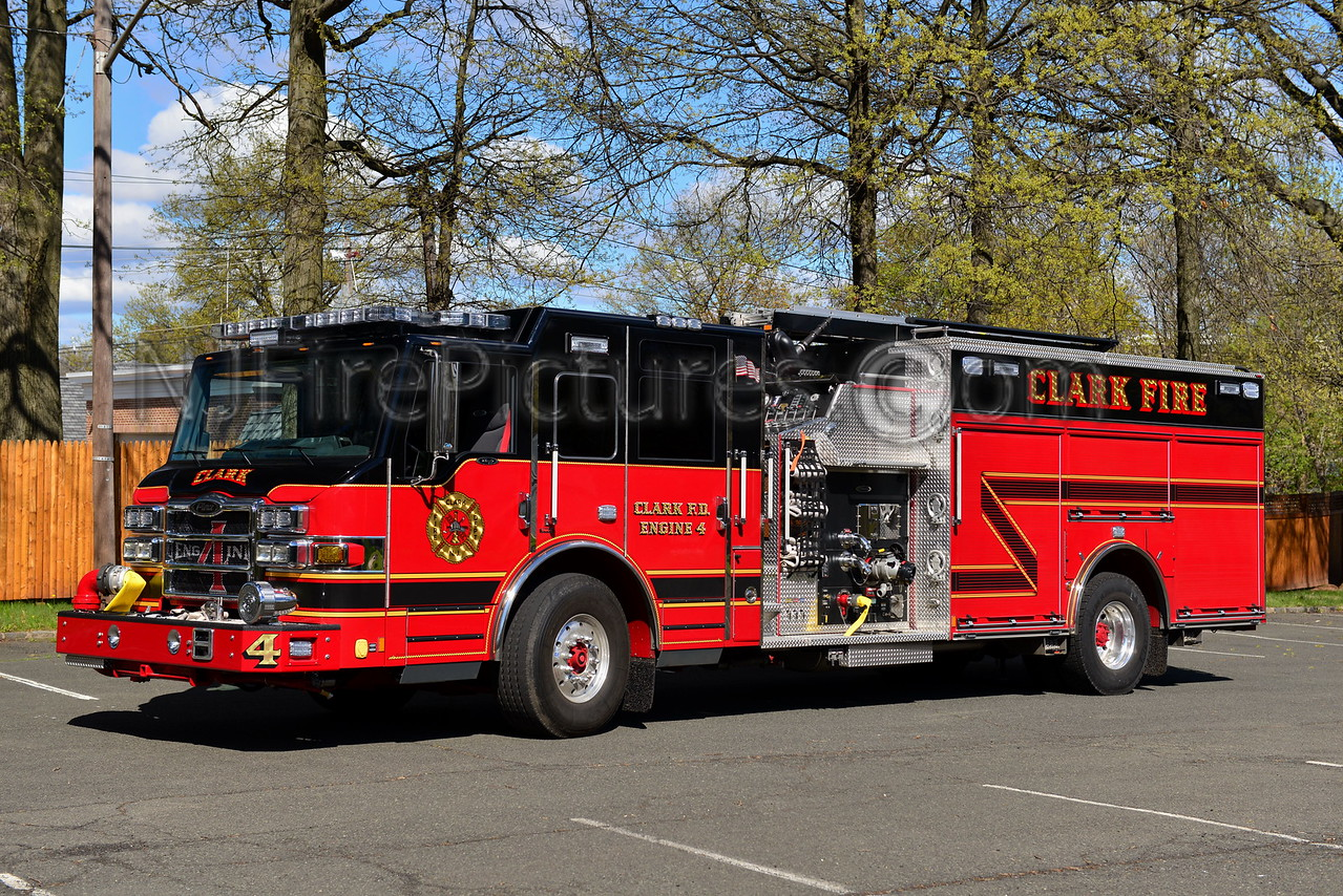 CLARK, NJ ENGINE 4