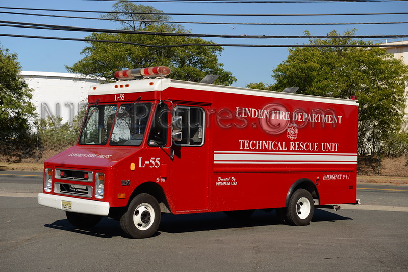LINDEN, NJ L55 TECHNICAL RESCUE UNIT