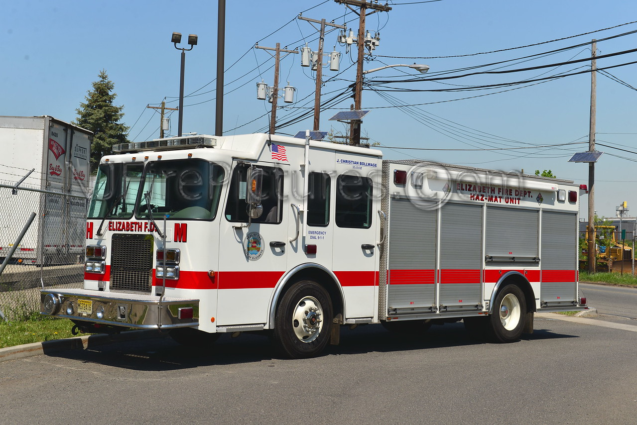 ELIZABETH, NJ HAZMAT UNIT