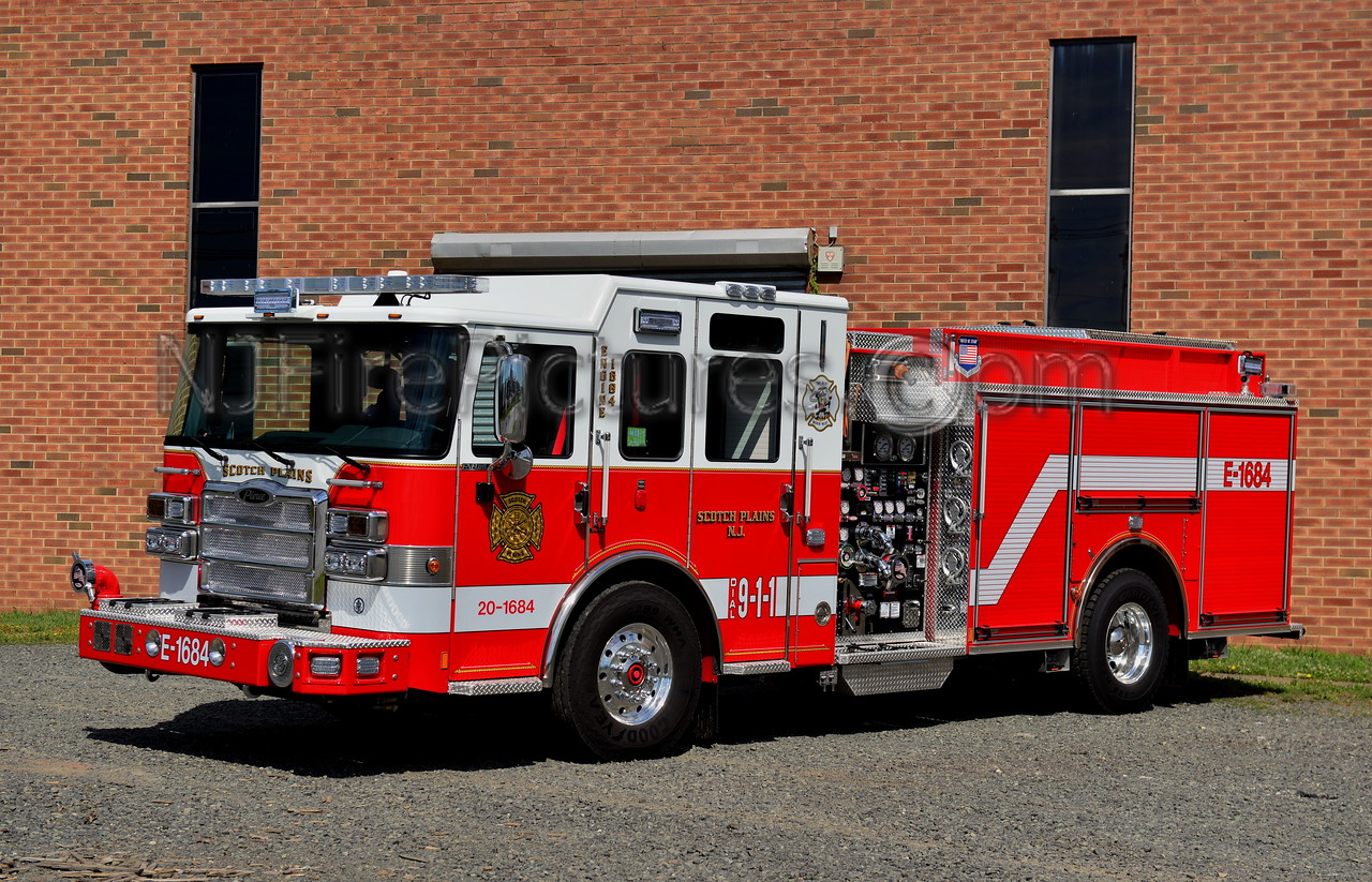 SCOTCH PLAINS, NJ ENGINE 1684