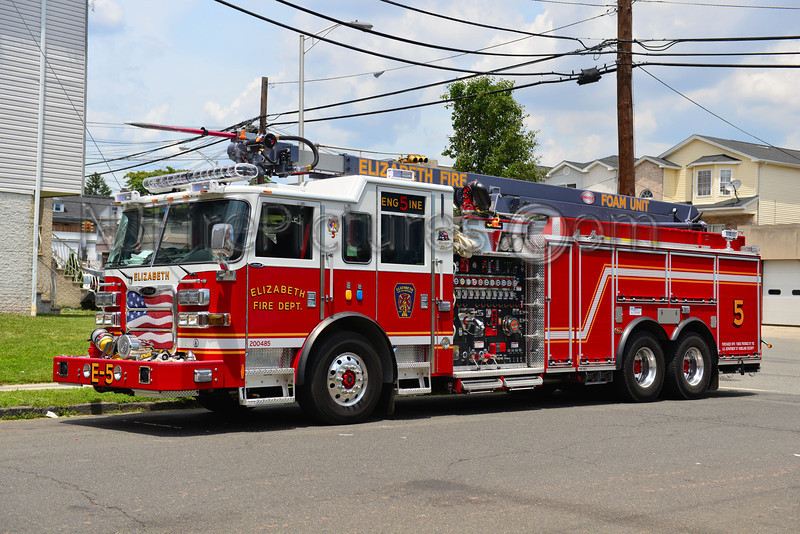 ELIZABETH NJ ENGINE 5