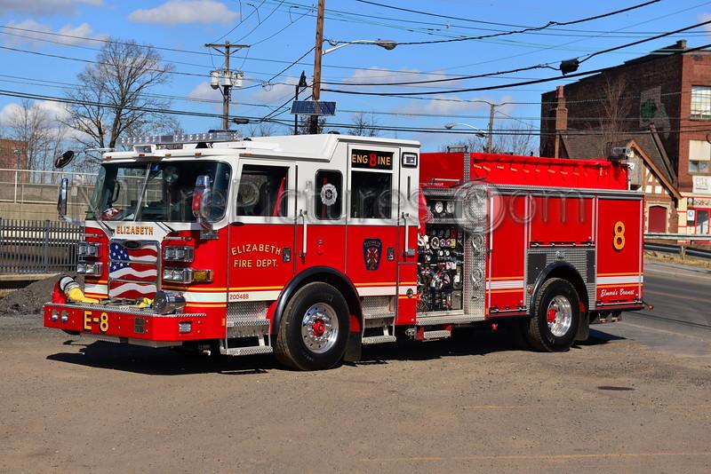 ELIZABETH, NJ ENGINE 8