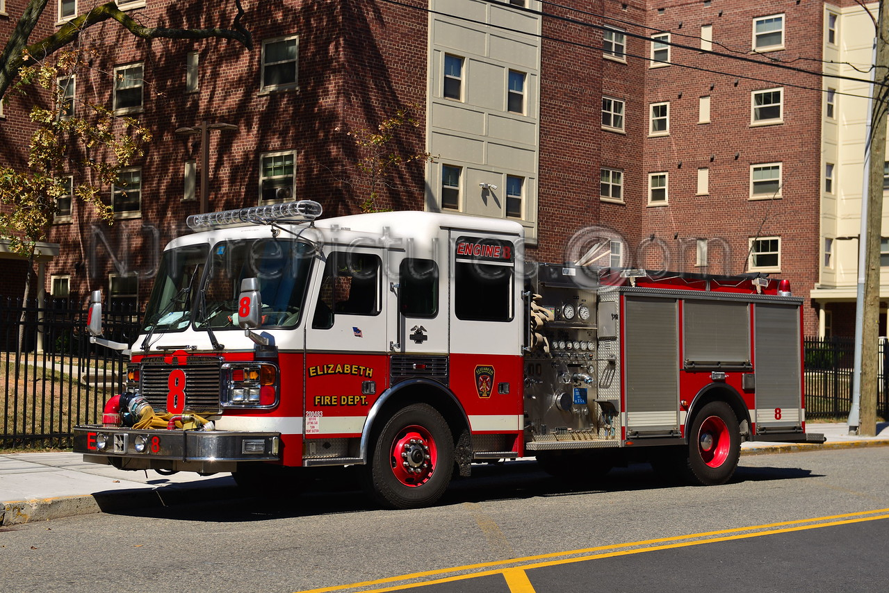 ELIZABETH, NJ ENGINE 8