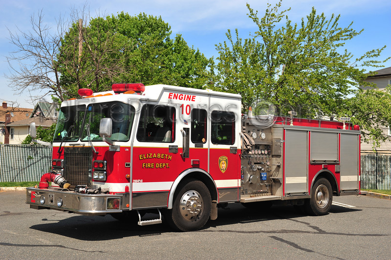 ELIZABETH, NJ RESERVE ENGINE 10