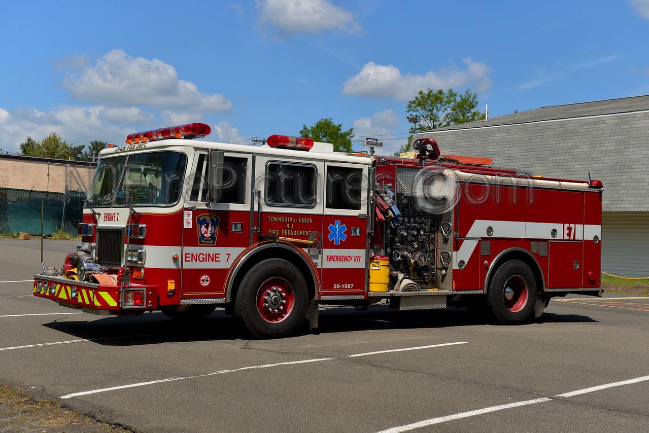 UNION TWP, NJ ENGINE 7