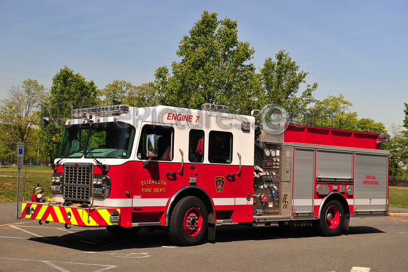 ELIZABETH, NJ ENGINE 7