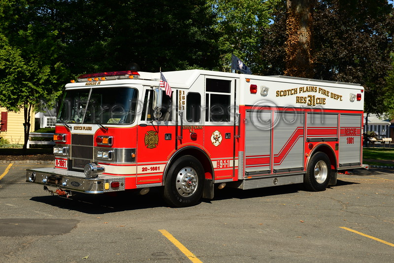 SCOTCH PLAINS, NJ RESCUE 1661