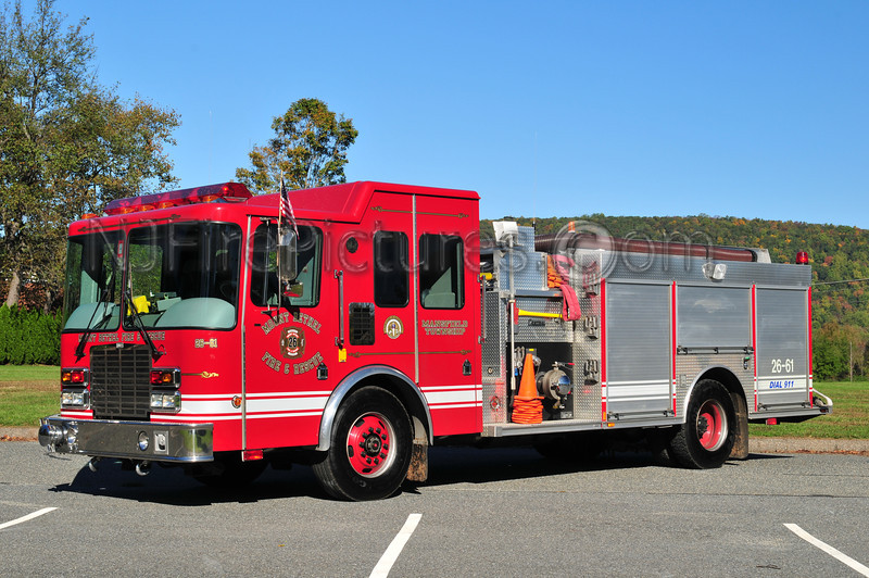 MANSFIELD TWP, NJ ENGINE 26-61 MOUNT BETHEL FIRE CO.