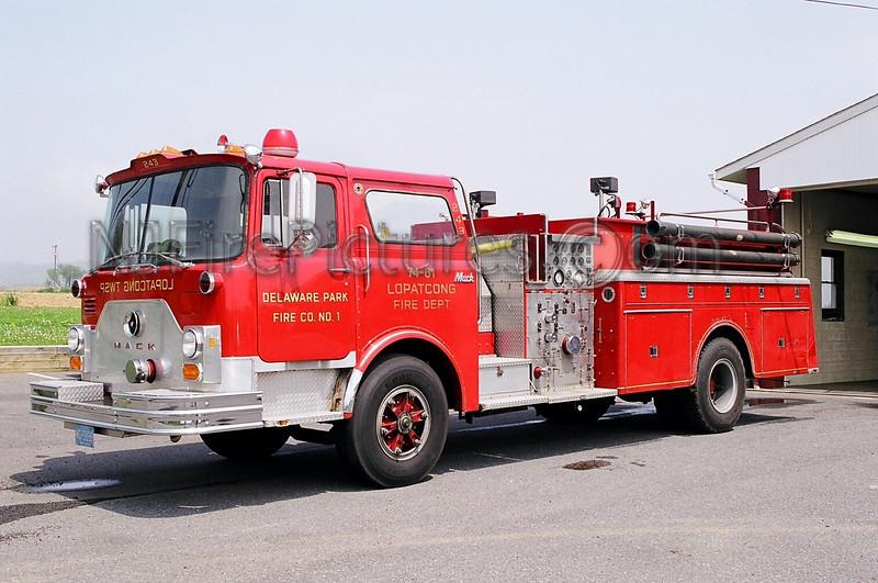 LOPATCONG, NJ ENGINE 74-61