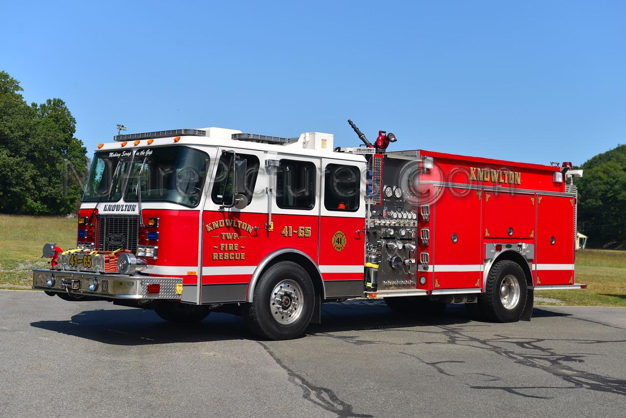 KNOWLTON, NJ ENGINE 41-65