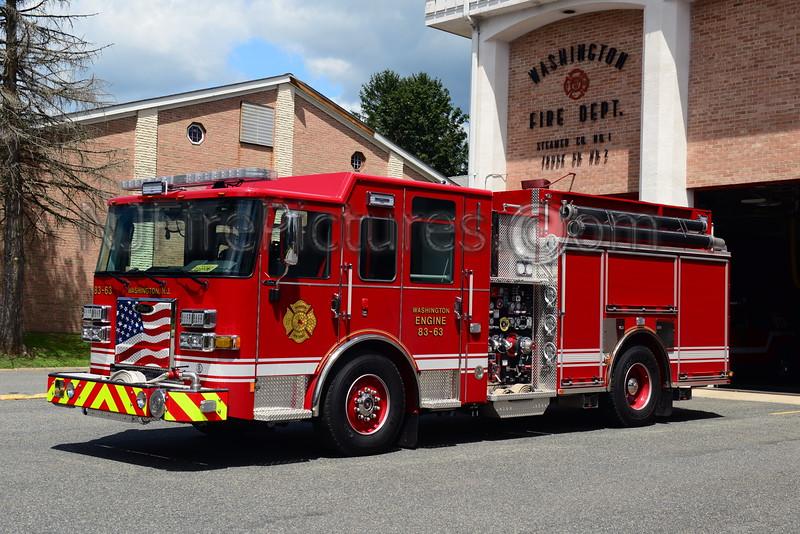 WASHINGTON BOROUGH, NJ ENGINE 83-63