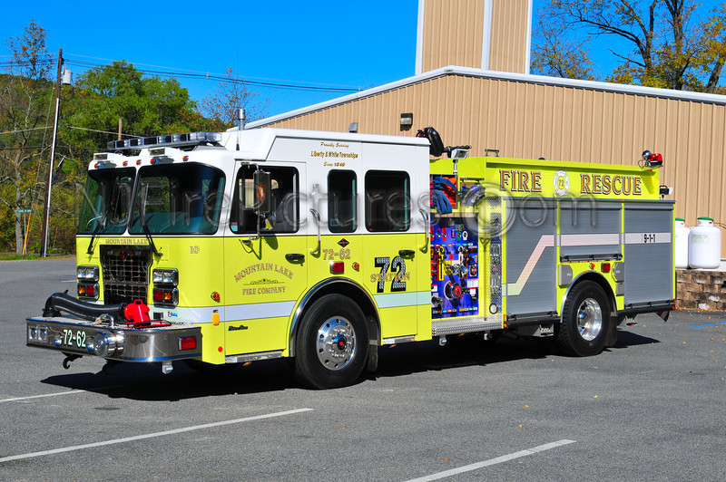 LIBERTY TWP, NJ (MOUNTAIN LAKE FIRE CO.) ENGINE 72-62