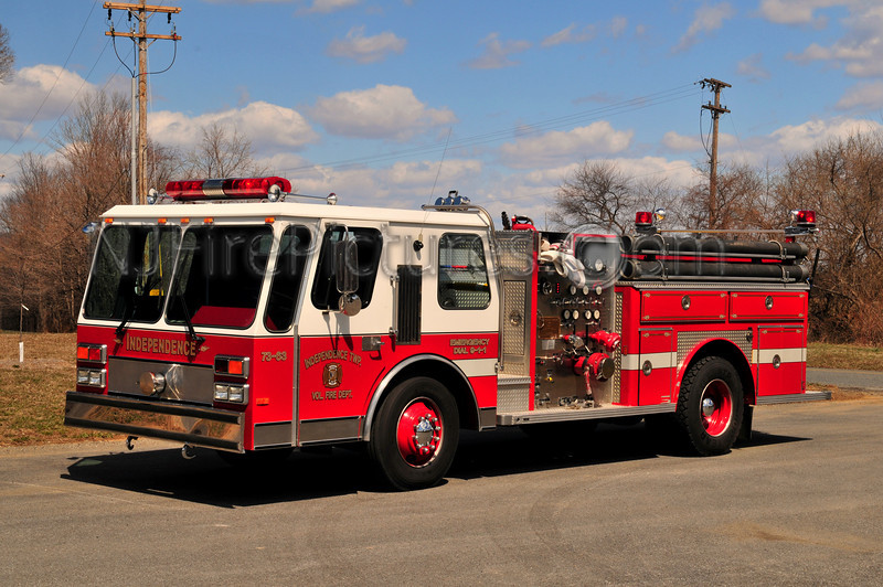 INDEPENDENCE, NJ ENGINE 73-63