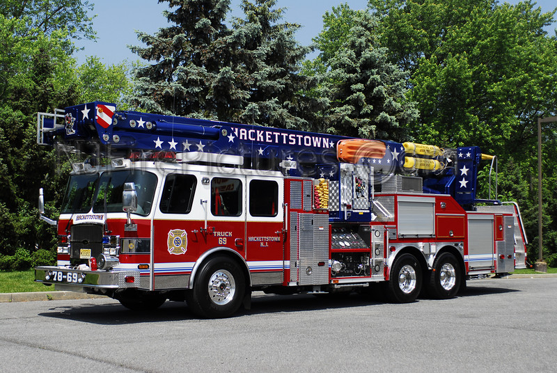 HACKETTSTOWN, NJ LADDER 78-69