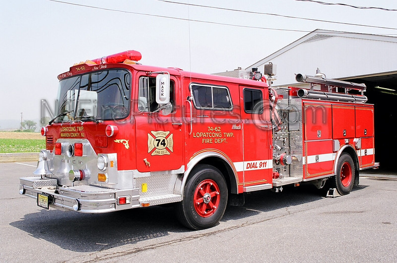 LOPATCONG, NJ ENGINE 74-62