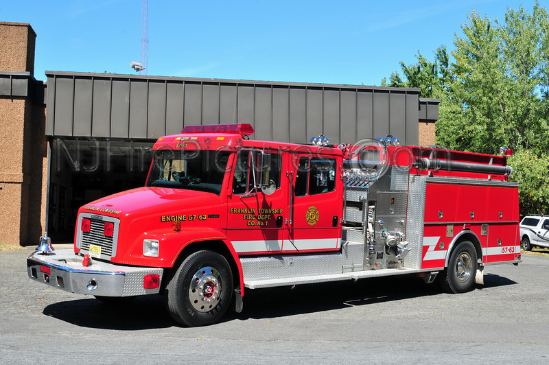 FRANKLIN TWP, NJ ENGINE 57-63