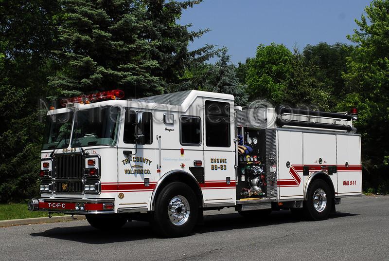 MANSFIELD, NJ ENGINE 29-63 (TRI-COUNTY FIRE CO.)