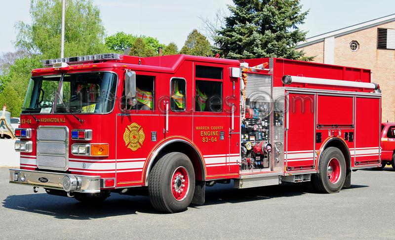 WASHINGTON BOROUGH, NJ ENGINE 83-64