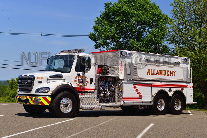 ALLAMUCHY, NJ TANKER 91-71