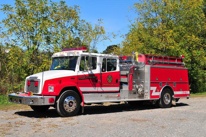 FRANKLIN TWP, NJ ENGINE 57-64