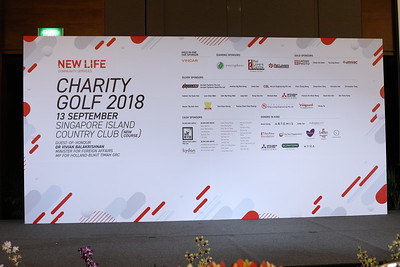 NEW LIFE CHARITY GOLF 2018