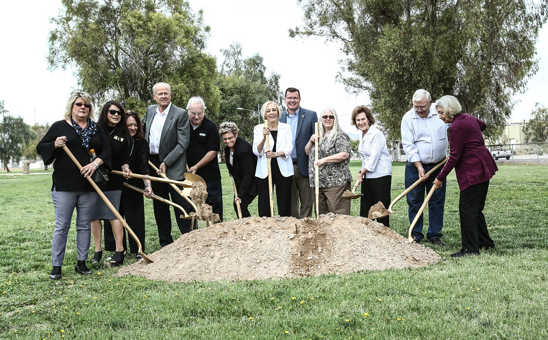 Colorado River Historical Society Museum's groundbreaking ceremony Bullhead City