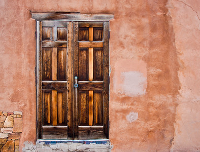 "'Weathered Door'Santa Fe, NM   12""x16"", Fine Arts paper (270 grams) limited edition of 50"
