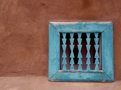 'Window Grill'  San Ildefonso Pueblo, NM  limited edition of 50