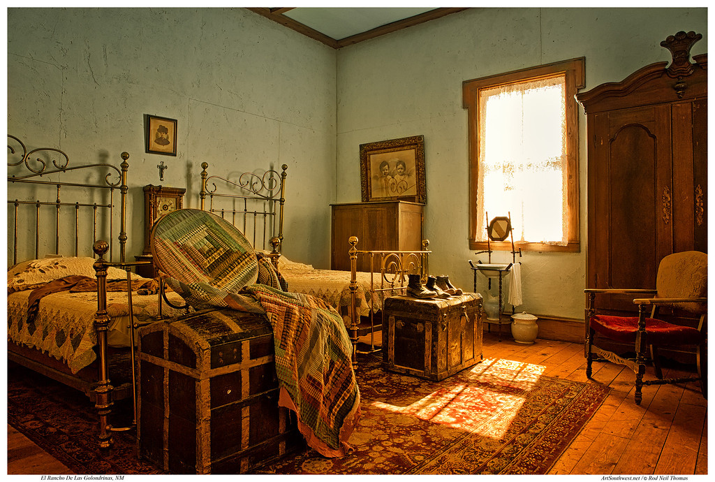 1890s BEDROOM OF THE SOUTHWEST