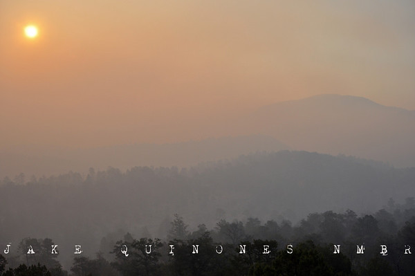 Images of the Wallow Fire 2011