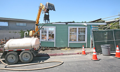 NEW MORNING CAFE DEMOLITION . 0304