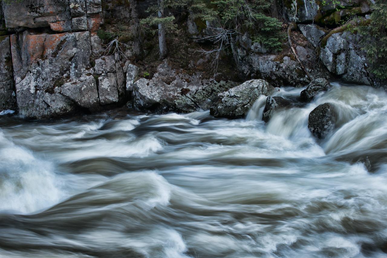 Rushing River Water 004 | Wall Art Resource