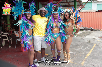VINCY MAS 2016 CARNIVAL TUESDAY PARADE