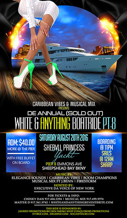 "WHITE & ANYTHING BOATRIDE PT.8 ""coming soon"""