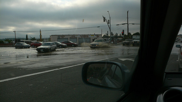 Flood at Intersection