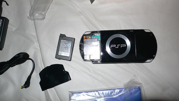 PSP Slim unboxing...
