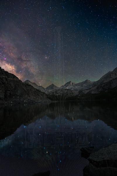 Milky Way over Long Lake