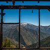 The view from the Big Horn Mine across Vincent Gulch towards Mt. San Antonio.