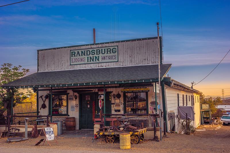 The Randsburg Inn.