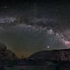Milky Way at Ryan Mountain Trailhead