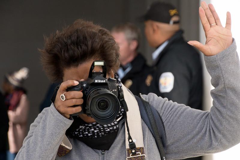 photographing the photographer, Washington, DC