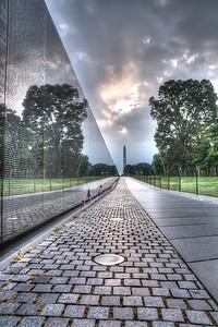 VIETNAM VETERAN'S MEMORIAL - WASHINGTON DC